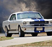 1966 Ford Mustang GT350 Coupe by DaveKoontz