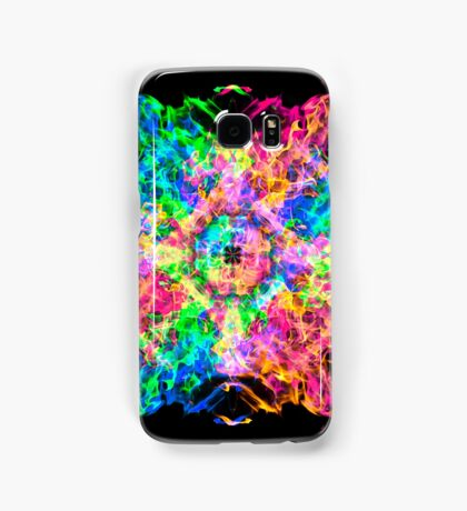 Psychedelic Fire Samsung Galaxy Case/Skin