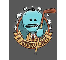A Meeseeks Obeys Photographic Print