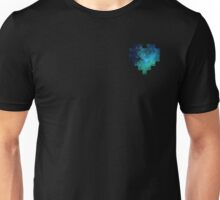 Broken Pixel - Galaxy Pixel Heart Unisex T-Shirt