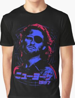Escape from New York 1997 Japanese Graphic T-Shirt
