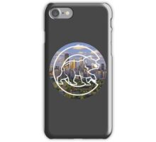 Chicago Cubs Skyline Logo iPhone Case/Skin
