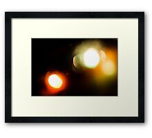 Last Lights No. 3 Framed Print