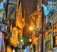 The Shambles York @ Night by Karlspics