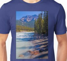 Canada. Canadian Rockies. Jasper National Park. Athabasca River. Unisex T-Shirt