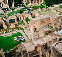 Forum Romanum From Above by PatiDesigns