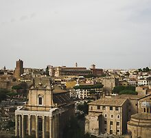 Old Ruins Of Rome by PatiDesigns