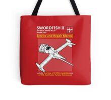 Swordfish Service and Repair Manual Tote Bag