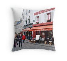 Place du Tertre, Paris Throw Pillow