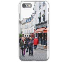 Place du Tertre, Paris iPhone Case/Skin