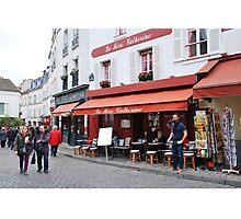 Place du Tertre, Paris Photographic Print
