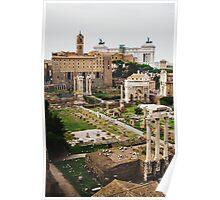 Forum Romanum Vertical Poster