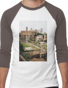 Forum Romanum Vertical Men's Baseball ¾ T-Shirt