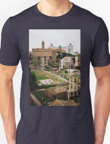 Forum Romanum Vertical Unisex T-Shirt