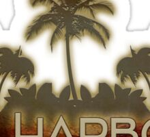 Bal Harbour Florida palm tree design Sticker