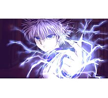 killua epic hunter x hunter Photographic Print