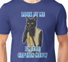 I'm The Captain Meow Unisex T-Shirt