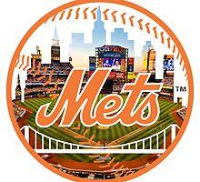 New York Mets Stadium Logo by j423985
