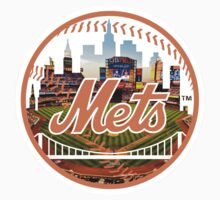 New York Mets Stadium Logo Kids Tee