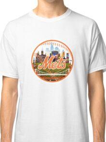 New York Mets Stadium Logo Classic T-Shirt