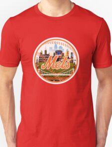 New York Mets Stadium Logo T-Shirt