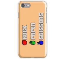 Rock-paper-scissors iPhone Case/Skin