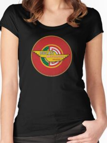 Ducati Vintage Motorcycles Bologna italy Women's Fitted Scoop T-Shirt