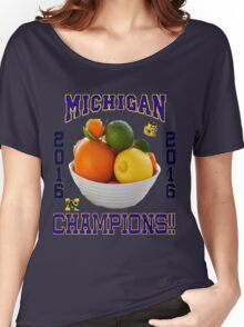 Michigan! Bowl CHAMPIONS AGAIN!!!! Women's Relaxed Fit T-Shirt