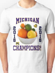 Michigan! Bowl CHAMPIONS AGAIN!!!! T-Shirt