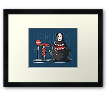 My Hungry Neighbor Framed Print