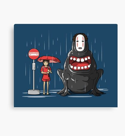 My Hungry Neighbor Canvas Print