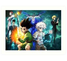 hunter x hunter epic Hunter X Hunter Art Print