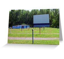 Drive-In Theater Greeting Card