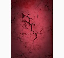 Cracked and Peeling Red Paint Texture Classic T-Shirt