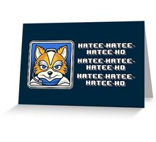 What Does Fox McCloud Say? Greeting Card