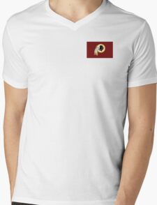 Washington Redskins Mens V-Neck T-Shirt