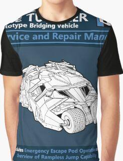 Bridging Vehicle Service and Repair Manual Graphic T-Shirt