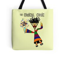 The Conical Comic Tote Bag