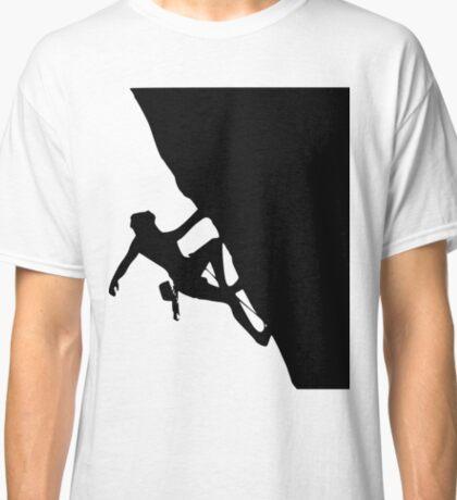Rock Climbing Silhouette Classic T-Shirt