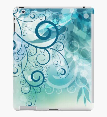 Turquoise Vines iPad Case/Skin