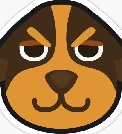 BUTCH ANIMAL CROSSING Sticker