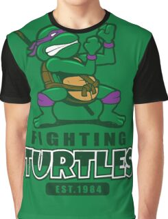 Fighting Turtles - Donatello Graphic T-Shirt