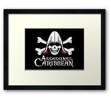 Assassins of the Caribbean Framed Print