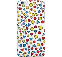 Triangles Circles and Squares iPhone Case/Skin