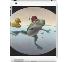 Frog and Duck iPad Case/Skin