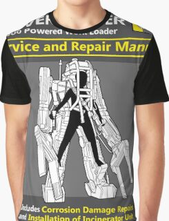 Power Loader Service and Repair Manual Graphic T-Shirt