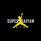 Dragonball Z - AIR SUPER SAIYAN GOKU by RockyV (The Brand Master)