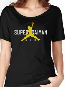 Dragonball Z - AIR SUPER SAIYAN GOKU Women's Relaxed Fit T-Shirt