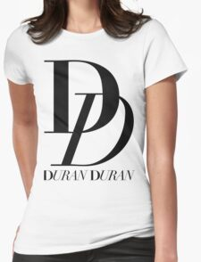 DURAN DURAN TOUR 2016 LOGO Womens Fitted T-Shirt