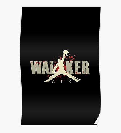 Air Walker - The Walking Dead Poster